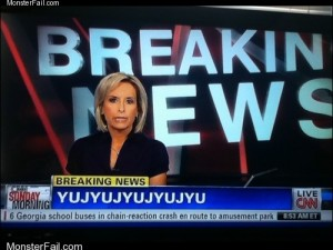 Monster fail photos  Breaking News FAIL
