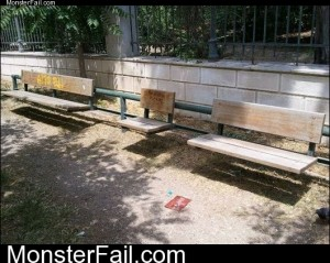 Forever Alones Bench