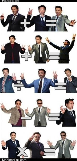 Homework class test  Robert Downey Jr Teaches Math Now