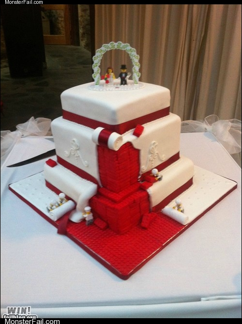 Monster win photos WIN Wedding Cake WIN