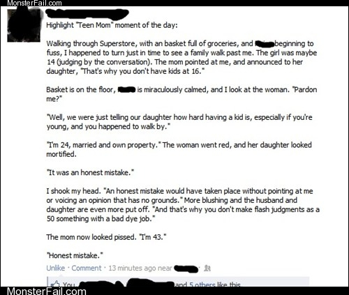 Funny facebook fails  There Is No Reason to Believe This Story Didnt Happen Exactly as It Was Told