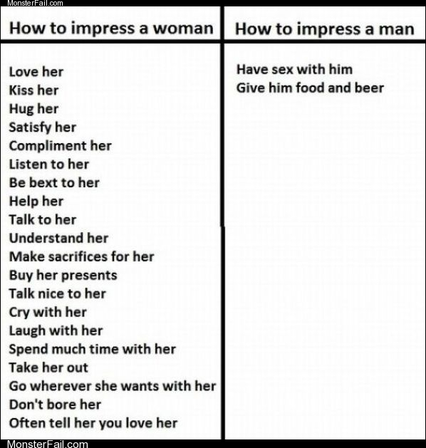 How to impress