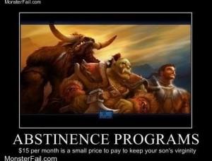 Warcraft Keeping Teens Abstinent Since Its Inception