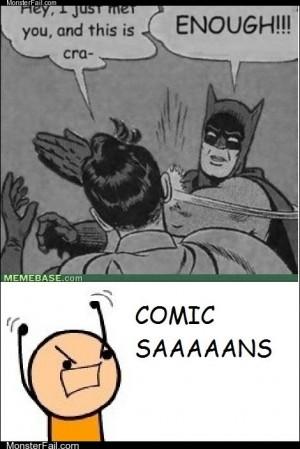 COMIC SAAAANS