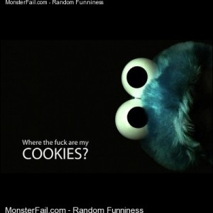Lmao cookiemonster lol funnypics