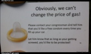Free condom