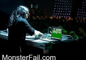 Skrillex Making Music