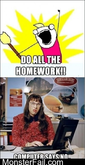 Do All The Homework