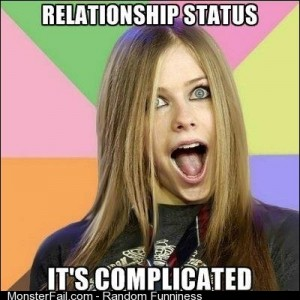 Avril gets complicated