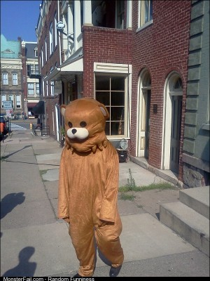 Pedobear At The Sandusky Trial