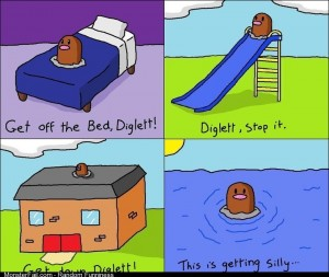 Darn you Diglett