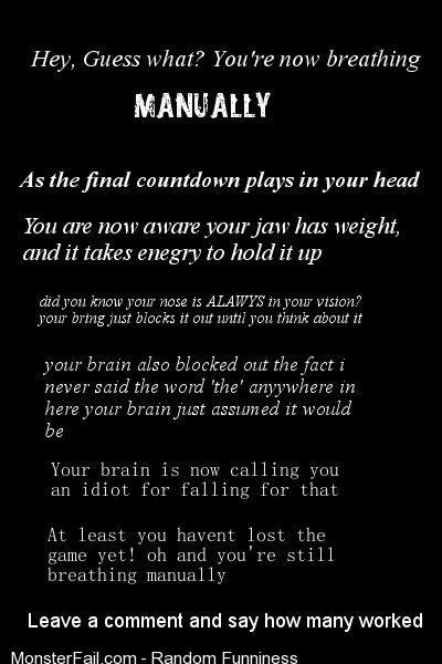 Trolling your brain