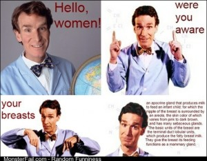 Bill Nye Boobs