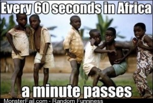 Every 60 Seconds in Africa