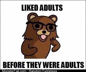 Pedo bear hipster