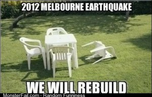 Melbourne Earthquake