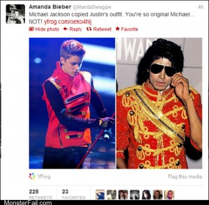Funny facebook fails  How DARE Michael Plagiarize the King of Pop