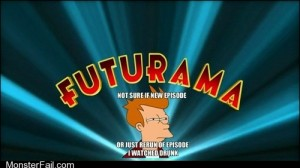 Futurama is back and they know about us