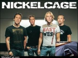 Nickelback and Nicholas Cage