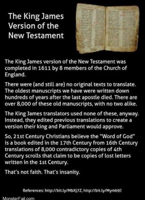 The King James Bible and what it all really means.