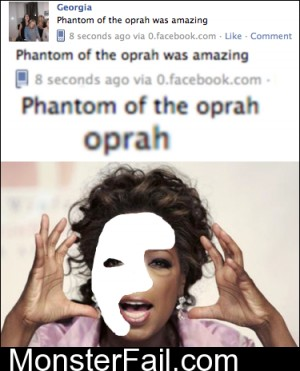 Phanton Of The Oprah