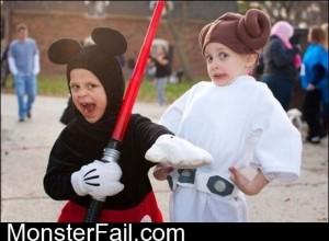Jedi Mickey Mouse FTW