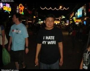 Nice wife shirt
