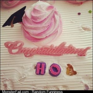 I slightly altered geenamarie0715s graduation cake funny funnypics cake desert ho graduation