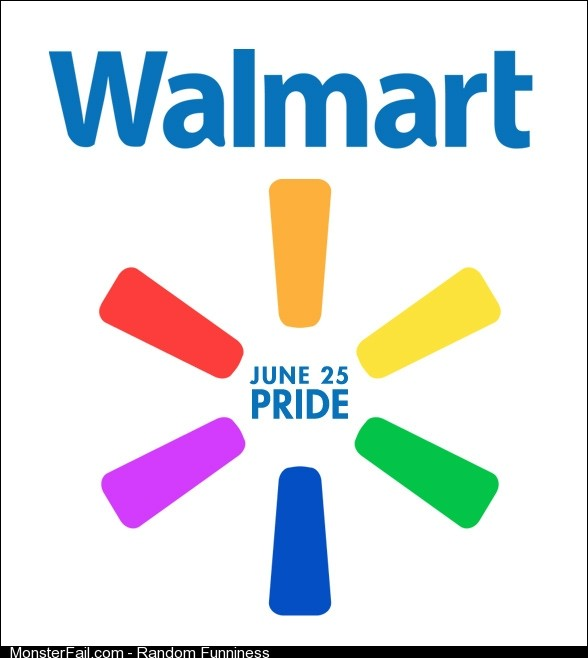 Curious what would happen to walmart's facebook if this spread