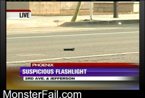 Suspicious Flashlight Is Suspicious