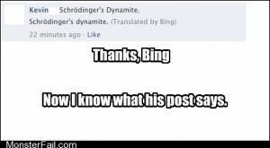 Thanks a whole lot Bing