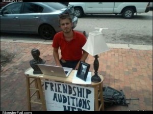 Friendship auditions