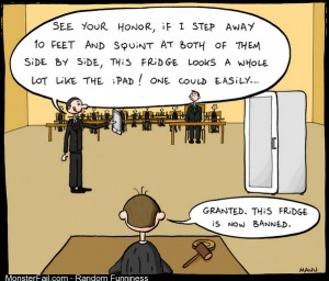 How Apple's lawyers think
