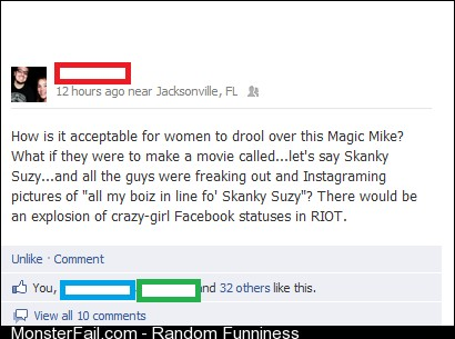 My friend's thoughts on Magic Mike