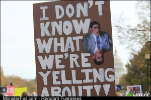 Just your average protester