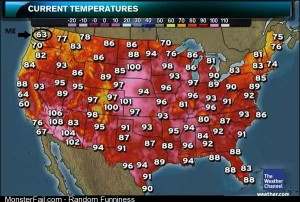 Something about a heat wave?