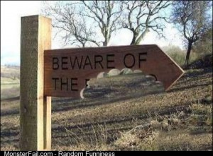 Beware of what?!?!?