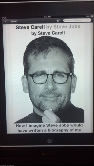 Steve Carell by Steve Jobs