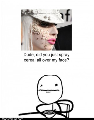 Cant Read My Cereal Face