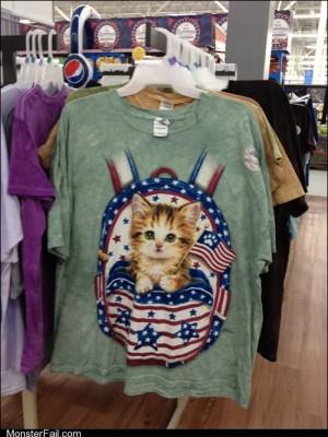 Fashion fail Poorly Dressed True Catriotism