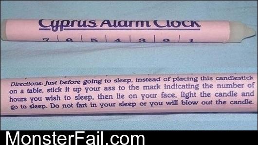 Cyprus Alarm Clock