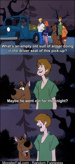 Scooby Doos humor cracked me up as a kid