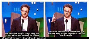 Seth Rogen knows whats going on