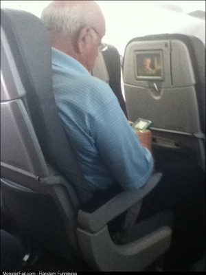 Saw This Little Guy Playing His Gameboy Color On My Flight