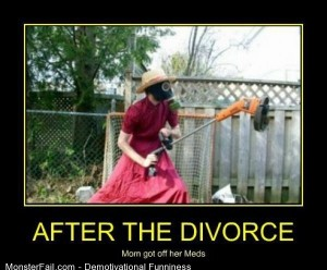 Demotivational After The Divorce