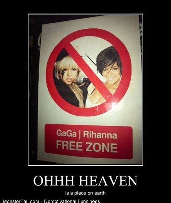 Demotivational Ohh Heaven