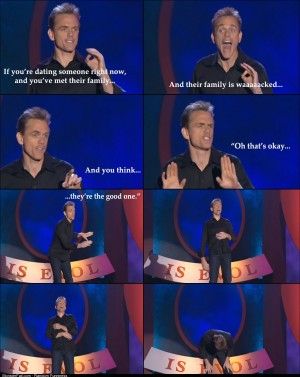 I wish I listened to Christopher Titus more before it was too late