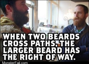 Monster fail photos Bros In the Event of a Tie The Two Beards Must Fight to the Death to Determine the Vltimate Victor