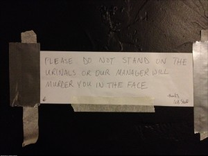 So I guess this is a problem at my local brew spot
