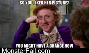 So You Liked Her Picture